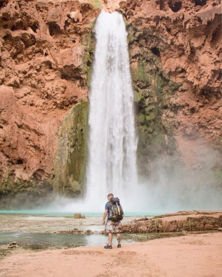 Steve at Mooney Falls