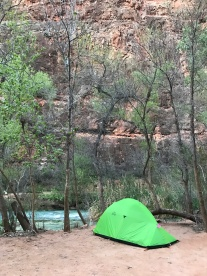Camping in Havasupai