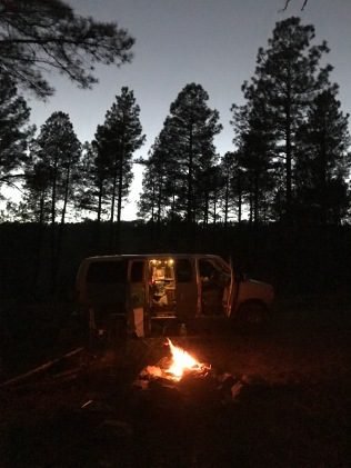 Campfires and vanlife