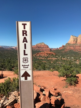 Beautiful landscapes along the trail