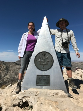 Hiking the Texas high point