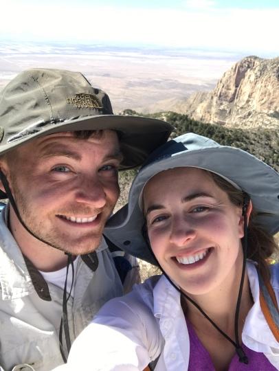 Summit selfie!