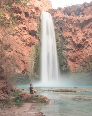 My attempt at a long exposure at Mooney Falls