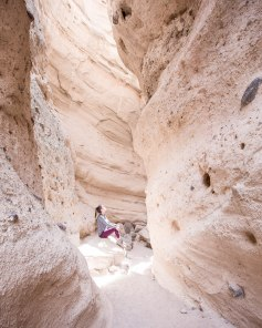The awesome slot canyon