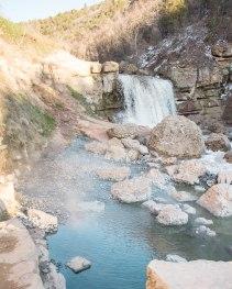 The lovely hot springs