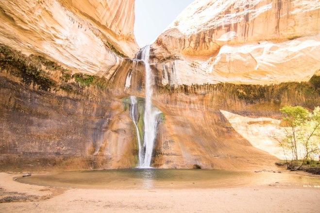Beautiful Lower Calf Creek Falls