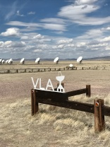 The entrance to the Very Large Array