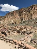 Excavated ruins