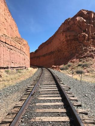 Crossing the train tracks