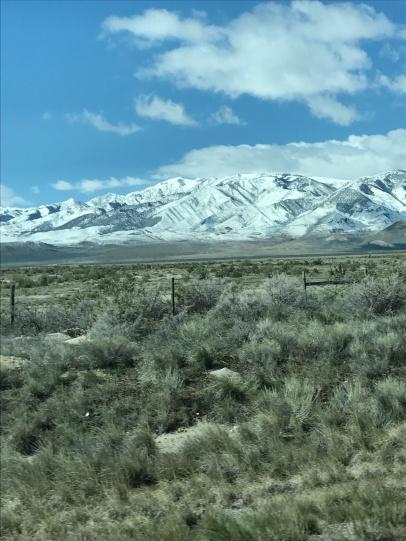 Mountains near Salt Lake City