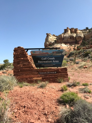 Entering Calf Creek