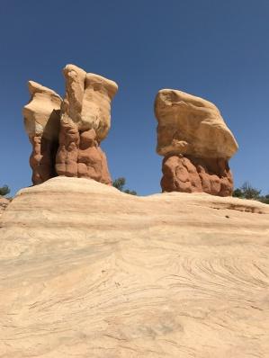 Natural rock sculptures