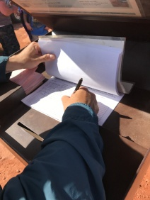 Steve signing in