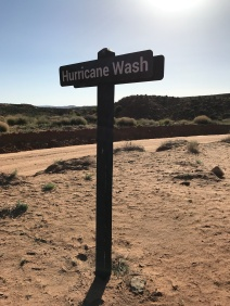 Hurricane Wash trailhead
