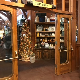 The lovely gift shop